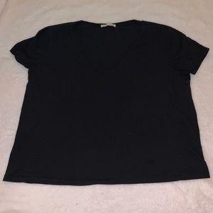 Zara v-neck t-shirt